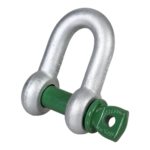 G-4151 Green Pin D-sluiting Borstbout