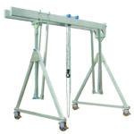 Aluminium portaal – 1 / 1.5T verrijdbaar onder last